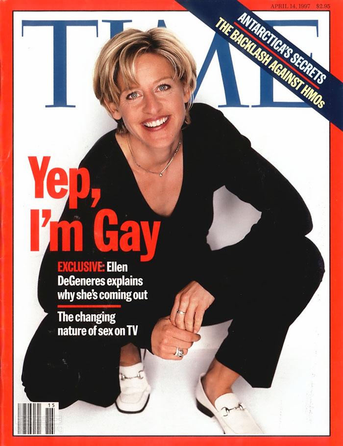 艾伦:身为同志,20年前出柜很艰难
