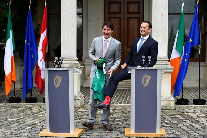 """爱尔兰总理接棒新""""袜王"""""""