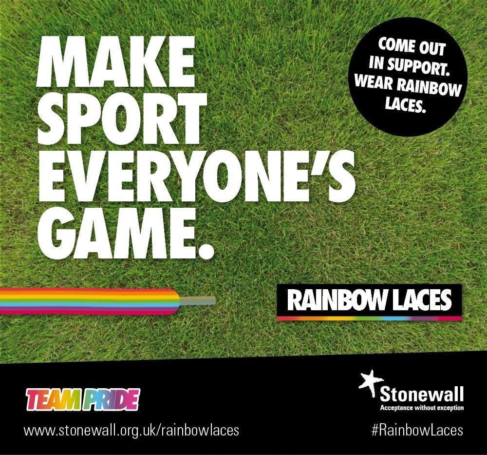 """反对赛场同性歧视,英超各队将响应""""彩虹鞋带""""活动"""