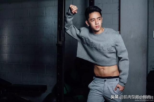 帅气亚裔男模肌肉照来啦,胸肌、腹肌撩到你没?网友:血槽已空!