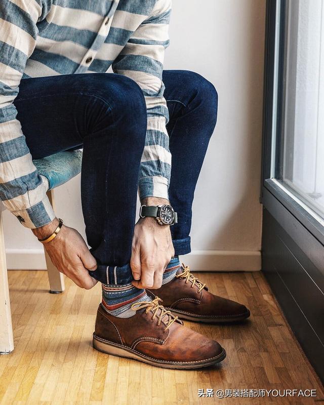 春季男生复古工装搭配,和冬季有哪些不同呢?当然是更帅了!