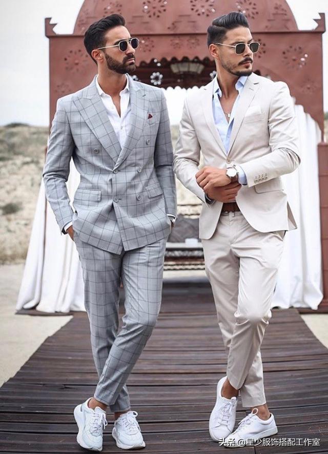真正有品位的男人:穿衣简约,但不简单