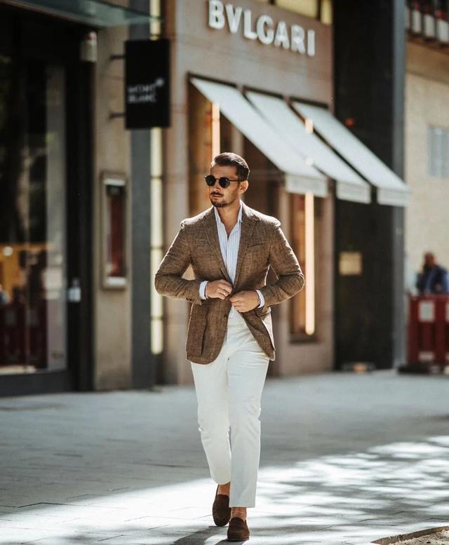 男人想穿西装又怕显得太老土?试试这样穿,造型绅士又显品位